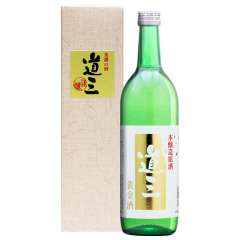 本醸造原酒 道三 黄金酒【金箔入り原酒】