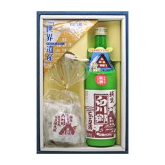 純米にごり白川郷 720ml&あま酒大福 セット【送料込】